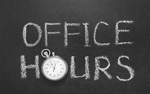 Office Hours Update